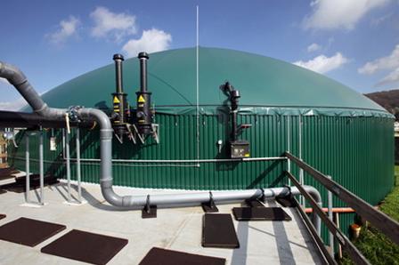 Biogas-Anlagen