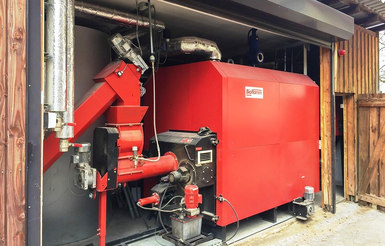 Biomasse-heizungen