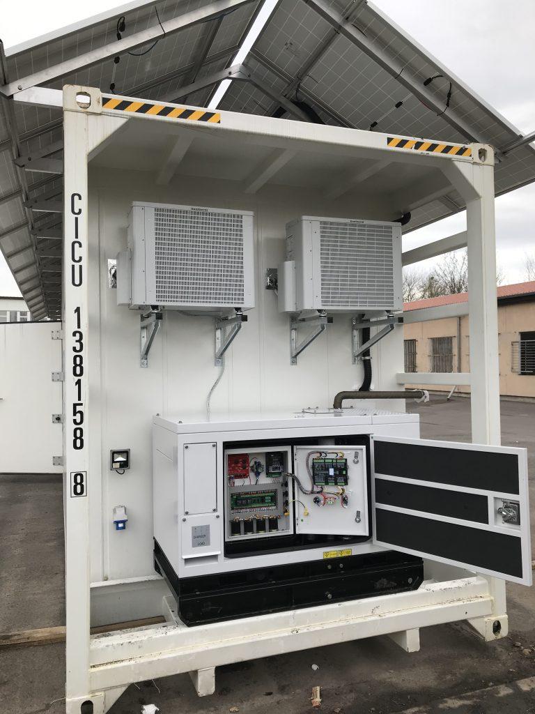 JEKUFROST Solar-Container